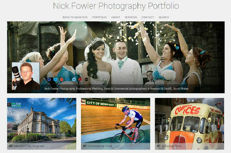 Portfolio Nick Fowler Photographer in Newport Gwent